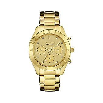 Caravelle New York Clock Donna Ref. 44L213
