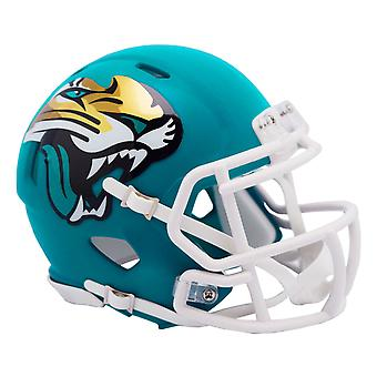 Riddell Speed Mini Football Helmet - AMP Jacksonville Jaguars