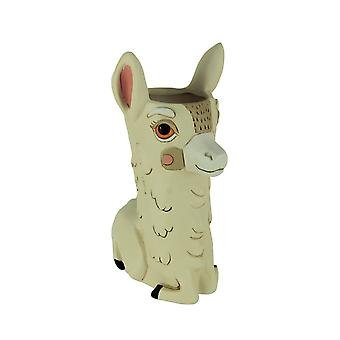 Allen Designs Llama Love Decorative Planter Vase