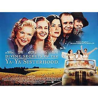 Ya ya Sisterhood (yksipuolinen) alkuperäinen elokuva julisteiden jumalalliset salaisuudet