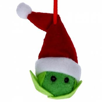 Gisela Graham Sprout in Santa Hat Decoration|Gifts From Handpicked