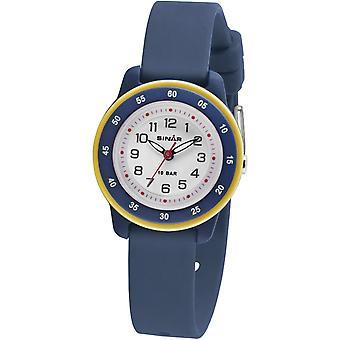 SINAR Youth Watch lasten ranne kello analoginen kvartsi silikoni nauha XB-22-2