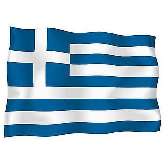 ملصقملصق ملصقا في الهواء الطلق العلم الفينيل اليونانية سيارة دراجة نارية