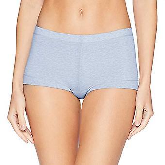Maidenform Women's Dream Cotton Boy Short, Denim, Denim Heather, Size 7.0