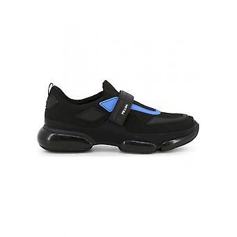 プラダ - 靴 - スニーカー - 2OG064_F0D8J - メン - ブラック,ブルー - 40