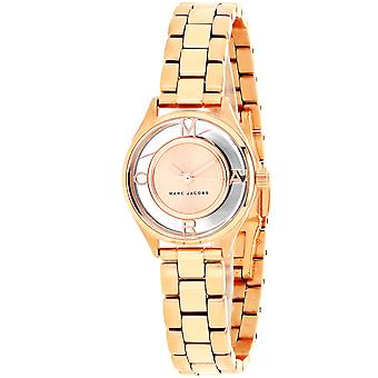 Marc Jacobs Women's Tether Rose gold Dial Watch - MJ3417