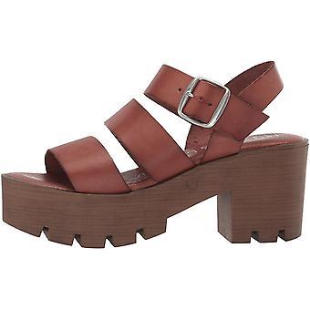 Musse & Cloud Womens Fissy Open Toe Ankle Strap Platform Pumps