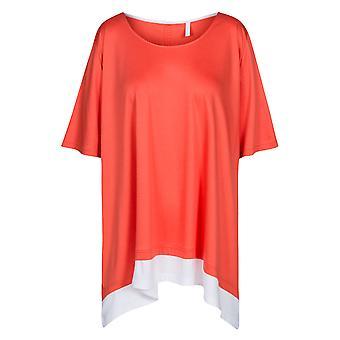 Rosch 1194644-16375 Women's Curve Soft Grapefruit Orange Pyjama Top
