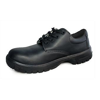 Dennys Comfort Grip Lace Up Safety Shoes