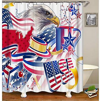 American Celebration Shower Curtain