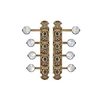 WD Music F Mandolin Tuners Gold