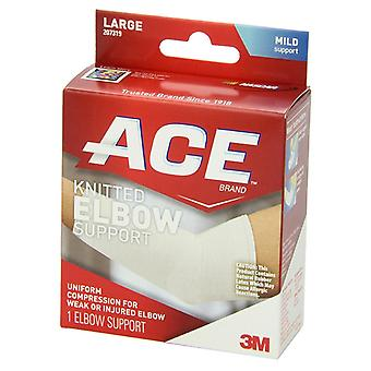 3m ace brand knitted elbow support, mild support, large, 1 ea