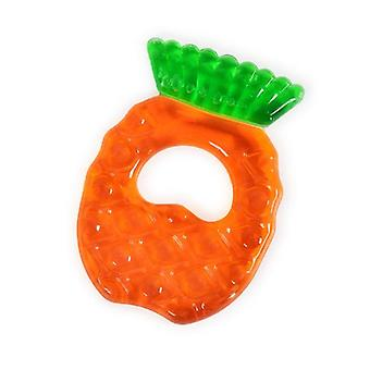 Teething ring pineapple T1181, BPA-free, cooling teething ring as toothing aid from 3 months