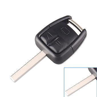 3 buttons car key replacement shell Opel HU100 blade