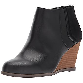 Dr. Scholl's Shoes Womens Patch Fabric Closed Toe Ankle Fashion Boots