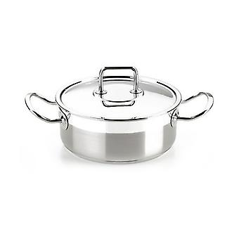 Casserole with lid BRA A340353 (20 cm) Stainless steel