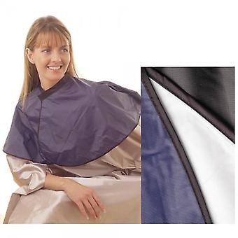 Hair tools pvc shoulder cape black