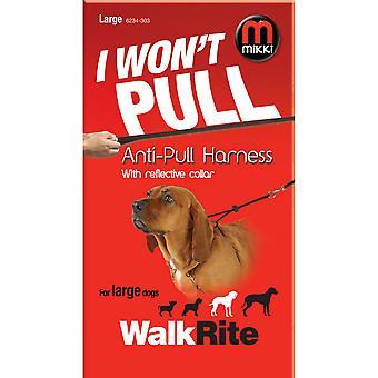 Interpet Limited Mikki Reflective Walkrite Anti-Pull Harness
