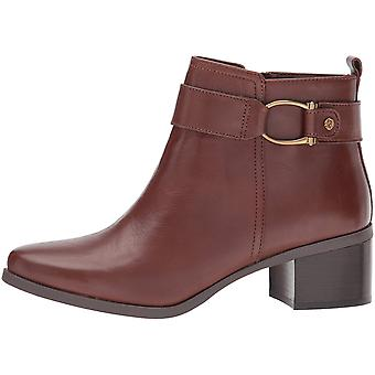 Anne Klein Womens Jeannie Almond Toe Ankle Fashion Boots