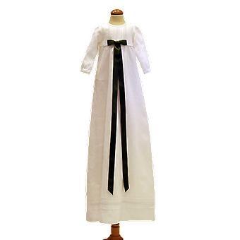 Dopklänning, Grace Of Sweden, Med Bred Marin Doprosett   Tr.v.