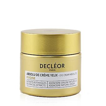 Decleor Peony Eye Cream Absolute (box Slightly Damaged) - 15ml/0.46oz