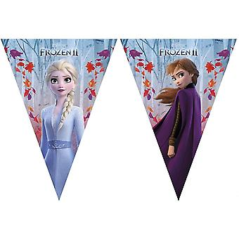 Frozen 2 Triangle Flags Banner