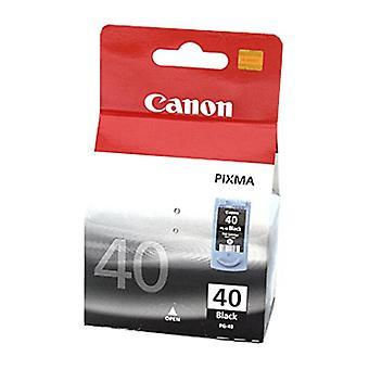 Carro de tinta negra fina de Canon PG40