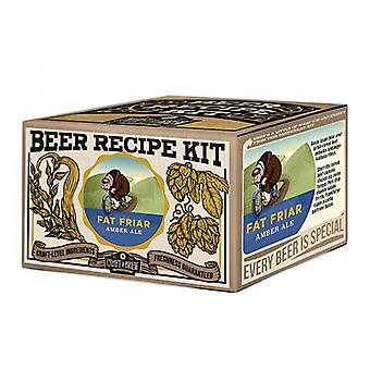 Craft a brew - fat friar amber ale refill kit