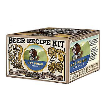 Crie uma cerveja - fat friar amber ale refill kit