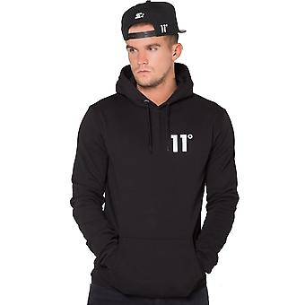 Eleven Degrees 11 Degrees 11d-376 Core Pull Overhead Hoodie - Black