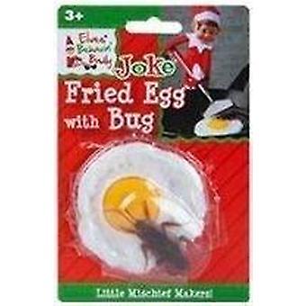 Elfos Comporin mal-ovo frito com bug-grande piada Elf impertinente