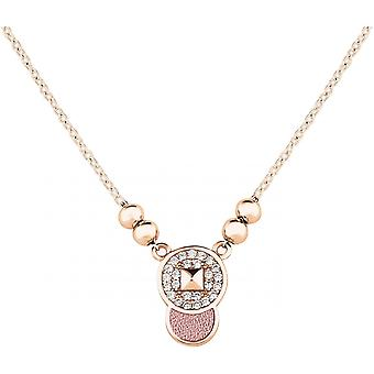 Spt01011 - necklace pendant Zeades pendant Rose Gold woman