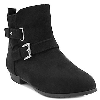 Sugar Women's Bochella Flat Ankle Bootie Boot with Double Flat Ankle Buckle C...