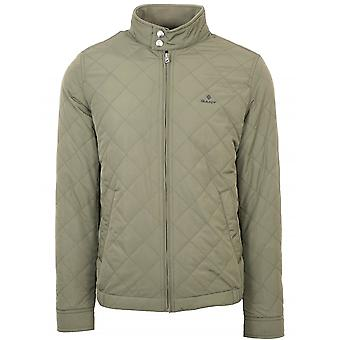 GanT GANT Khaki Quilted Windcheater Giacca