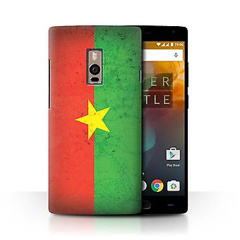 STUFF4 Case/Cover for OnePlus 2/Two/Burkina Faso/Burkinab�/African Flag