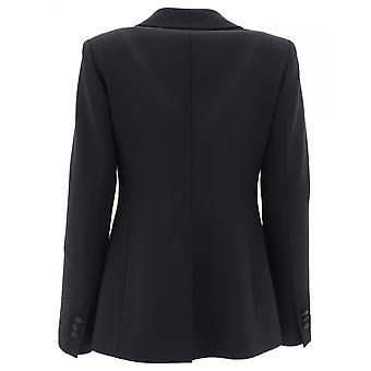 P.a.r.o.s.h. D420064013 Damen's Black Wool Blazer
