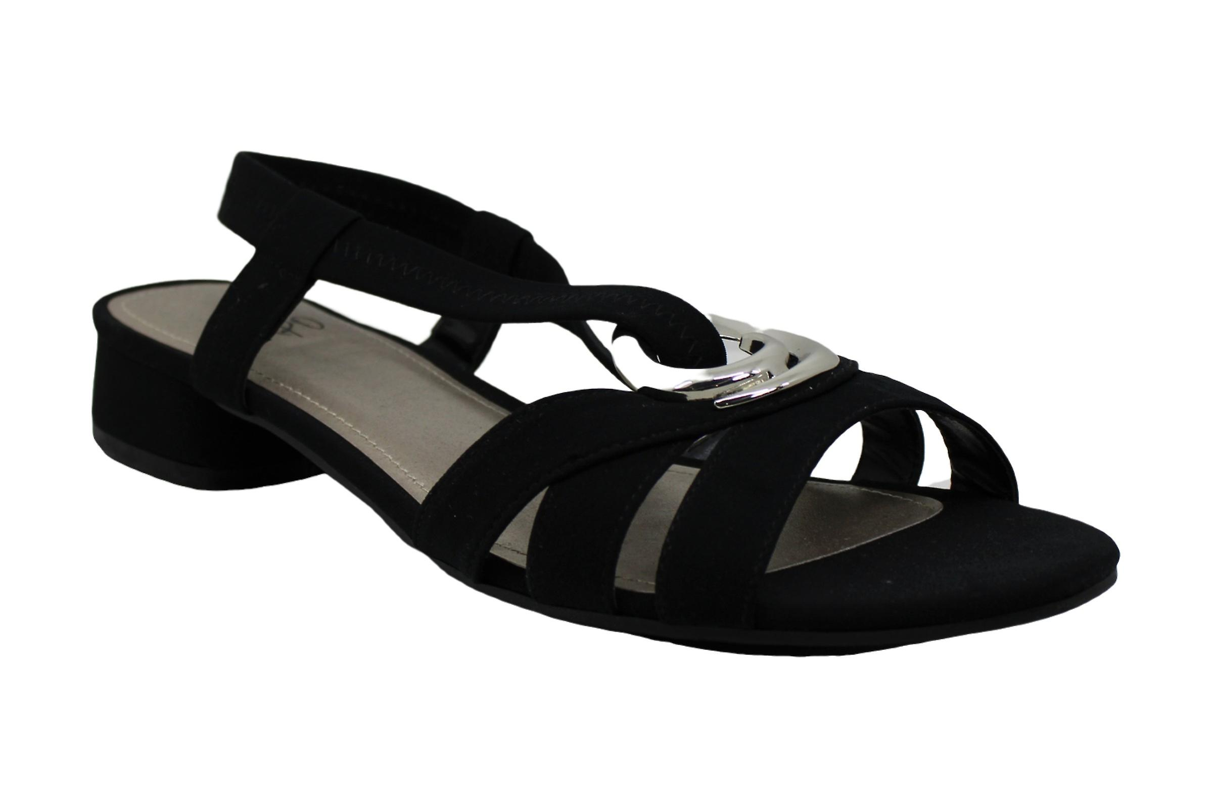 Impo Womens Denniell Open Toe Casual Slingback Sandals
