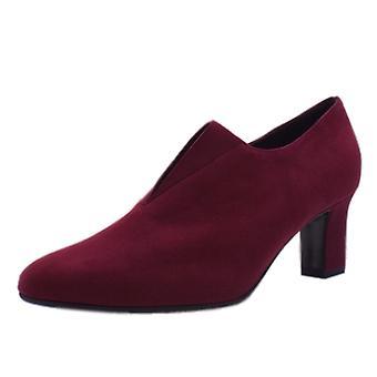 Peter Kaiser Miaka High Top Trouser Shoes In Jam Suede