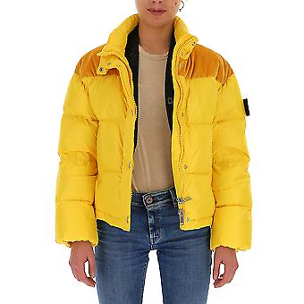 Na Label Al033150 Dames's Yellow Polyester Down Jacket