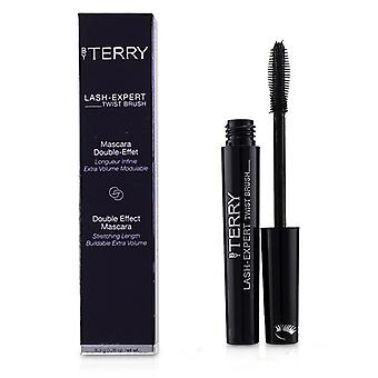 By Terry Lash Expert Twist Brush Double Effect Mascara - # 1 Master Black 8.3g/0.28oz