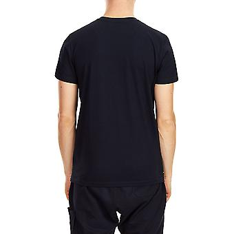 Weekend Offender Shaun Printed T-Shirt Navy 07