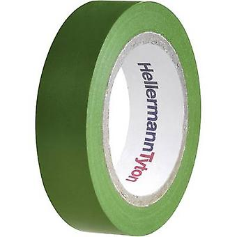 HellermannTyton HelaTape Flex 15 710-00103 Electrical tape HelaTape Flex 15 Green (L x W) 10 m x 15 mm 1 pc(s)