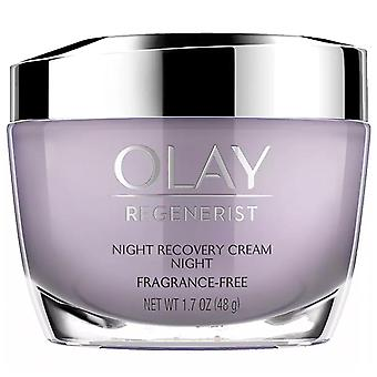 Olay regenerist night recovery night cream face moisturizer, 1.7 oz