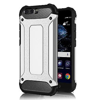 Shell pour Huawei P10 Hard Armor Protection Silver TPU Case