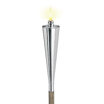 Blomus garden torch ORCHOS stainless steel matt, skewer, burning 13 hours