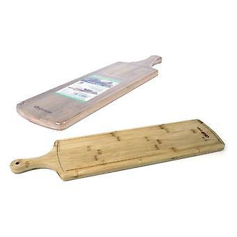 Placa de corte de bambu Quttin (59 x 15,5 x 2 cm)