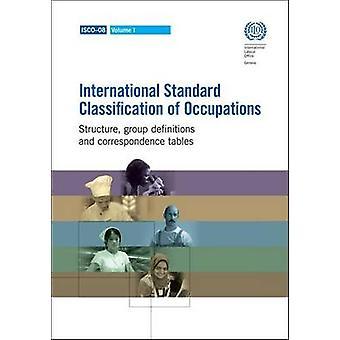 International Standard Classification of Occupations 2008 (ISCO-08) -