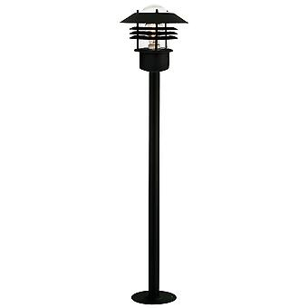 Vejers  -  Black Outdoor Lamp Post  - Nordlux 25118003