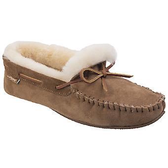 Cotswold Men's Chastleton Sheepskin Moccasin Slipper Shoe  25578