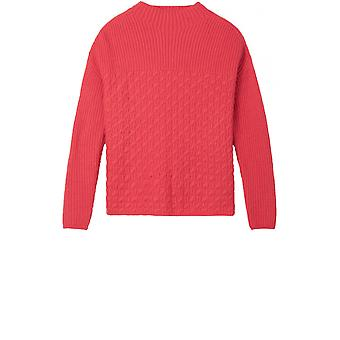 Sandwich Clothing Pink Textured Knit Jumper